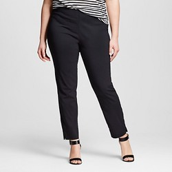 Women's Plus Size Skinny Crop Pants - Who What Wear™