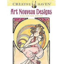 Art Nouveau Designs (Paperback) (Alphonse Marie Mucha)