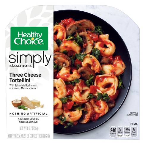 Healthy Choice Simply Organic Cheese Tortellini 9.5 oz - image 1 of 1