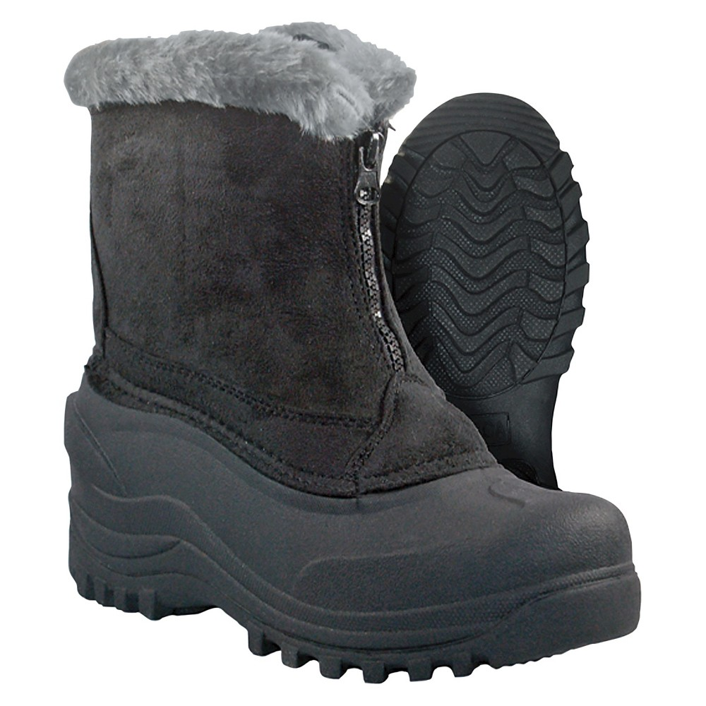 Womens Itasca Tahoe Winter Boots - Black 6