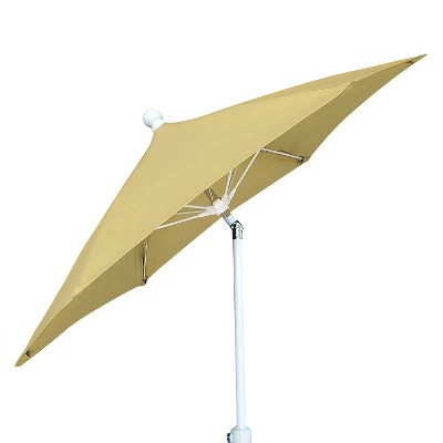 FiberBuilt 7.5u0027 Patio Umbrella Antique Beige