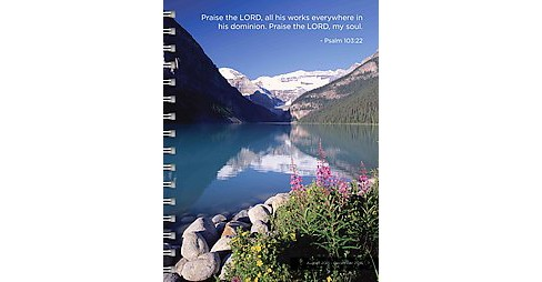 Psalms 17-Month 2016 Planner (Paperback) - image 1 of 1
