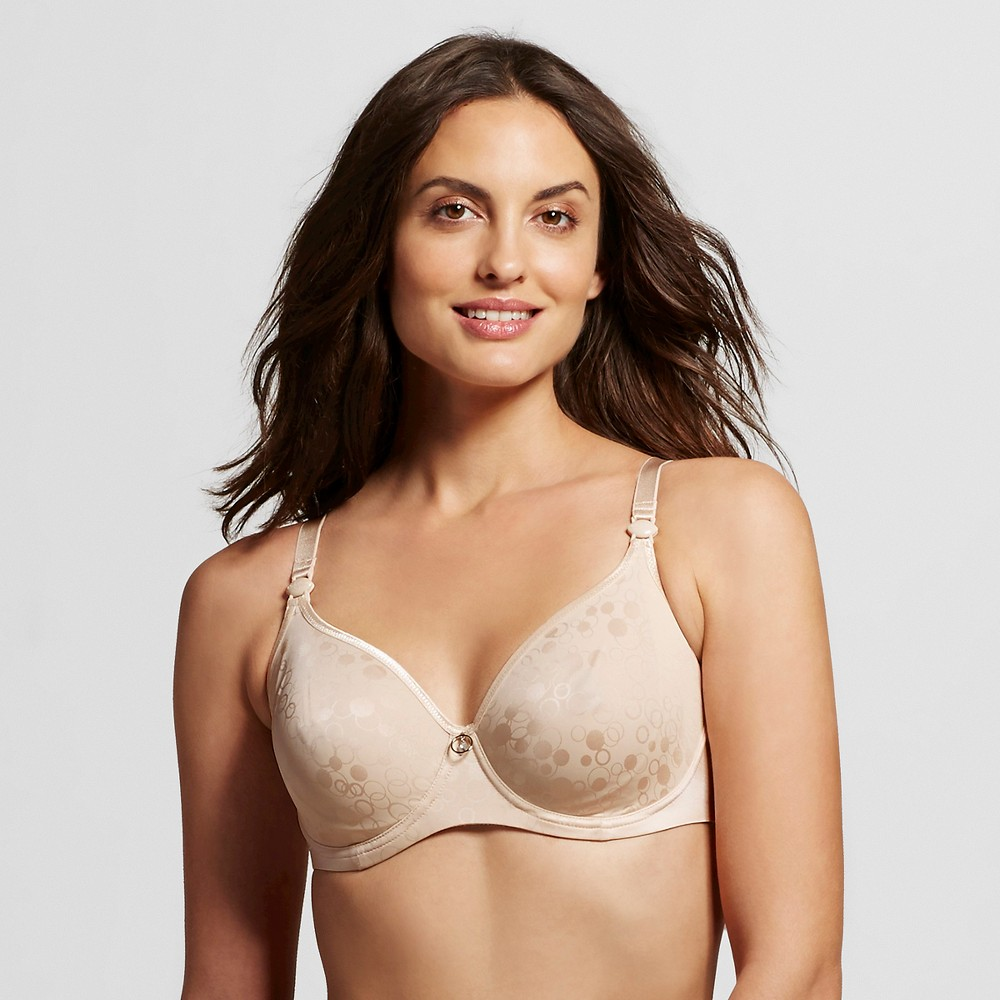 Cache Coeur Gloss Underwire Nursing Bra - Blush 32E, Womens