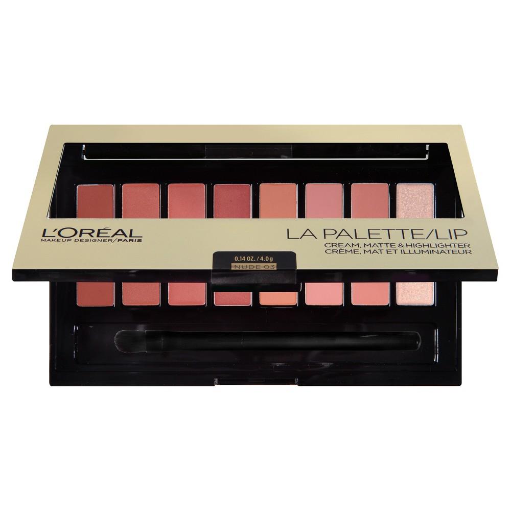 L'Oreal Paris Colour Riche Lip Palette 03 Nude .14oz, Nude 03