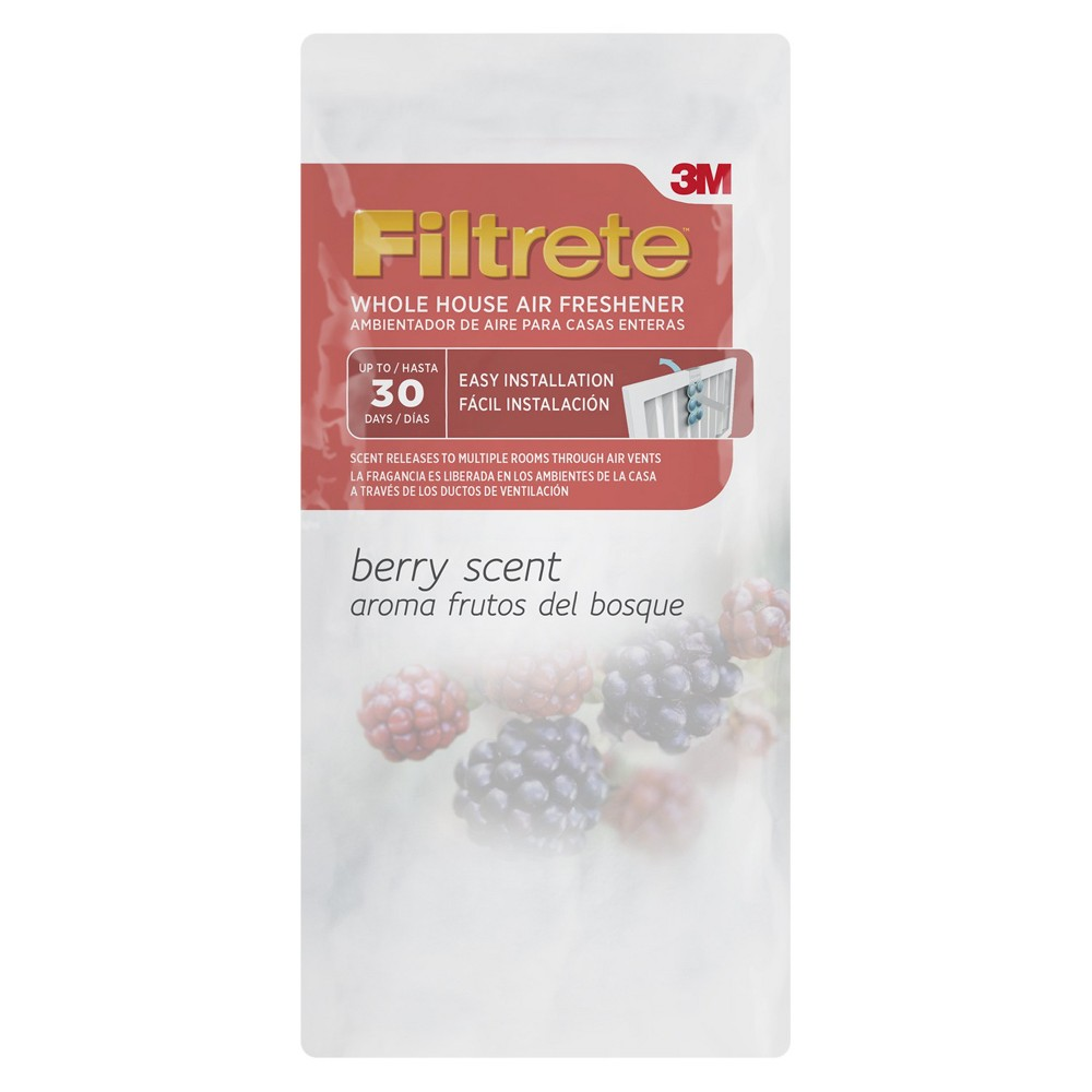 Filtrete Whole House Air Freshener, Berry (Pink)