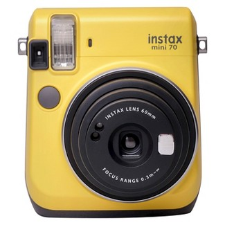 Fujifilm Instax® 16496122 Mini 70 Camera with 60mm Lens - Yellow