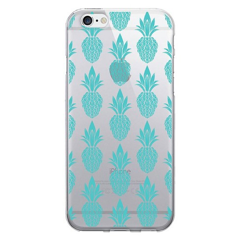 iPhone 6/6S Case - OTM POP Prints Clear - Pineapple Lane - image 1 of 1
