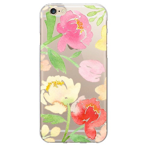 iPhone 6/6S Case - OTM Artist Prints Clear - Peonies Gone Bright - image 1 of 1