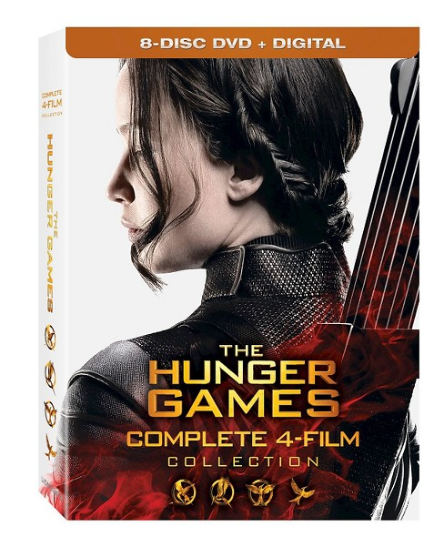 Hunger Games Collection (DVD + Digital) - image 1 of 1