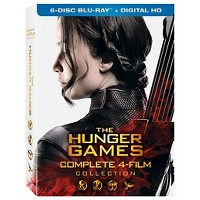 The Hunger Games Complete 4 Film Collection on Blu-ray