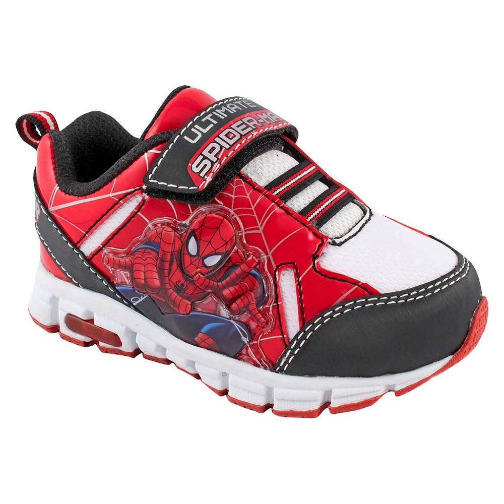 Toddler Boys Spider-Man Athletic Shoes - Red 7