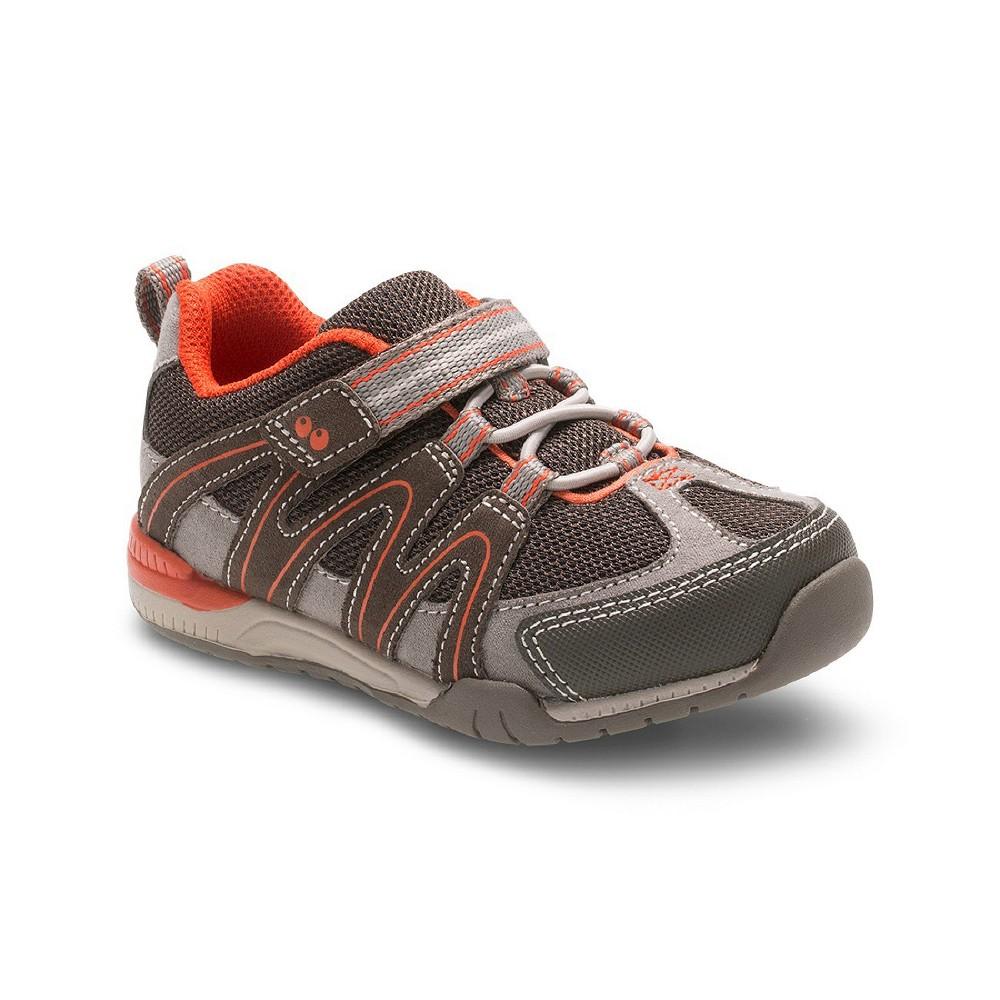 Toddler Boys Surprize by Stride Rite Darion Sneakers - Brown 5, Brown Beige