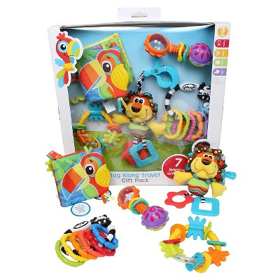 Playgro® Tag Along Travel Pack 11 Pc - Multi-Colored