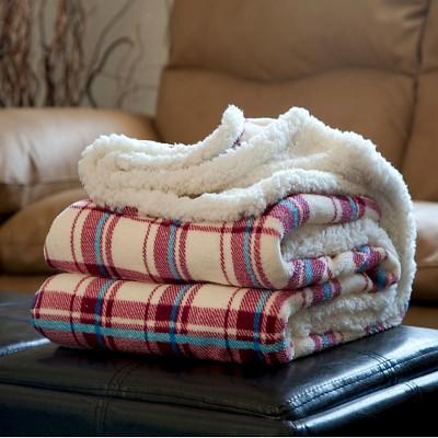 Fleece Sherpa Throw - Trademark Global
