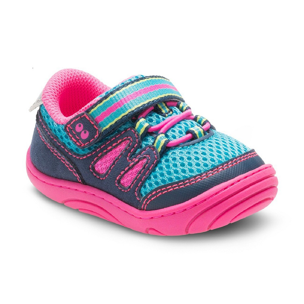 Baby Girls Surprize by Stride Rite Avril Sneakers - Blue 3