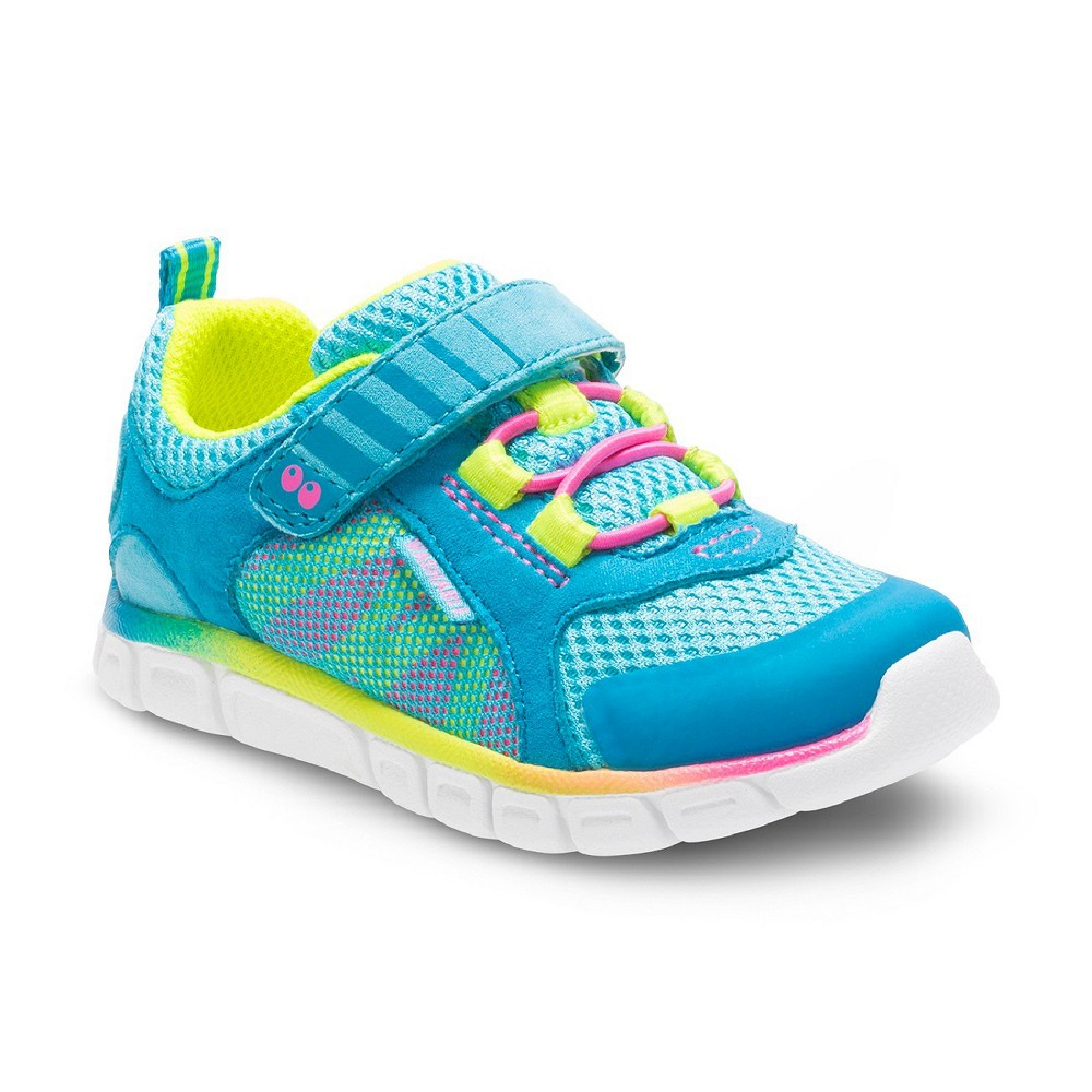 Toddler Girls Surprize by Stride Rite Charity Washable Sneakers - Turquoise 11, Blue