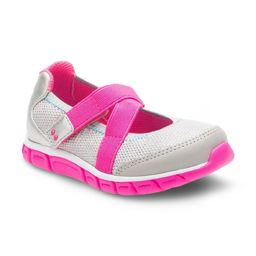 Toddler Girls Surprize by Stride Rite Syd Athletic Mary Jane Shoes - Silver 6
