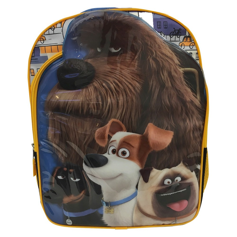 Secret Life of Pets Universal Kids Backpack, Blue