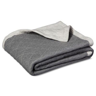 Gray Jersey Throw Blanket (50 X60 )- Room Essentials™