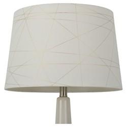 Foil Criss Cross Lamp Shade Gold - Threshold™