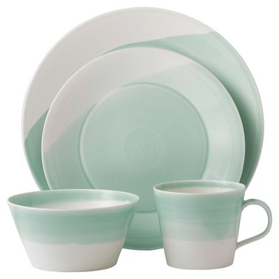 Royal Doulton® 1815 4pc Dinnerware Set Green