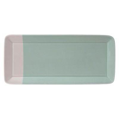 Royal Doulton 1815 Green Rectangular Tray