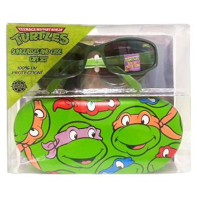 Nickelodeon Teenage Mutant Ninja Turtles Boys' Oval Sunglasses Green One Size