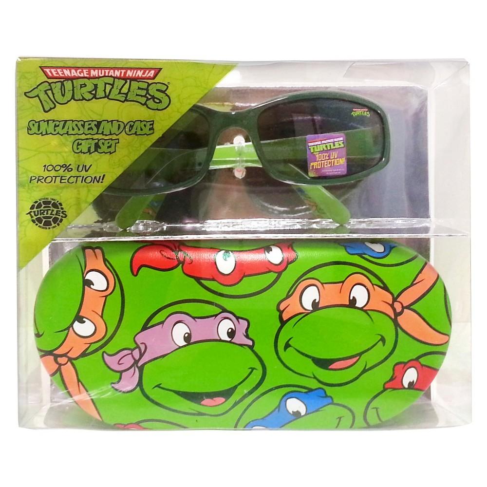 Nickelodeon Teenage Mutant Ninja Turtles Boys Oval Sunglasses Green One Size