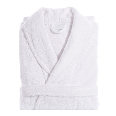 Unisex Terry Cloth Bathrobe Linum Home - White (XXLarge)