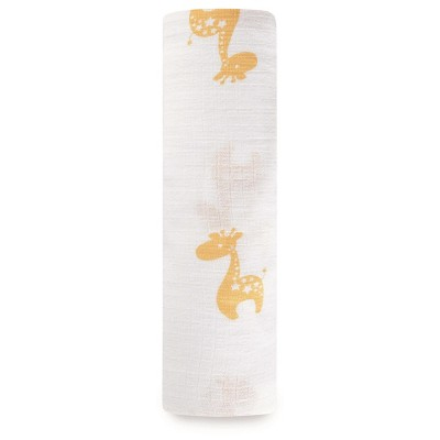Aden® by Aden + Anais® Swaddle Blanket - Safari Friends Giraffe