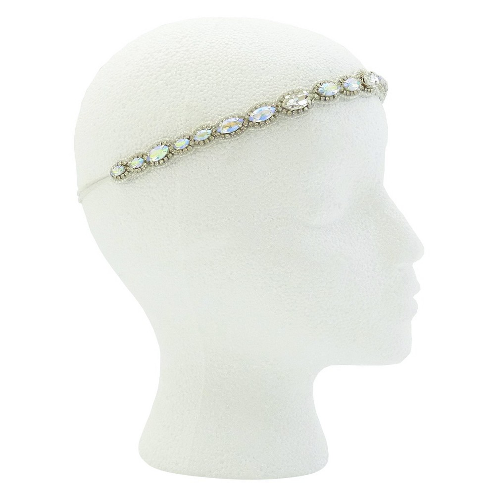 Pink Pewter Kaylee Bridal and Special Occasion Headband - White, Womens, Size: Small
