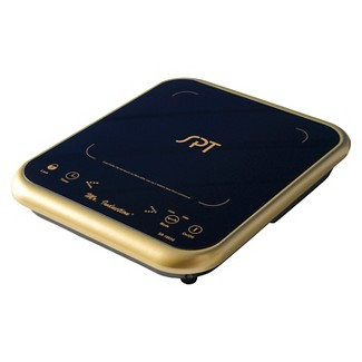 Sunpentown 1650W Induction Cooktop - Gold