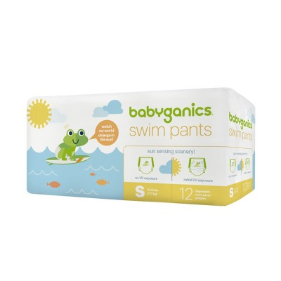 Babyganics Disposable Swim Diapers - Small