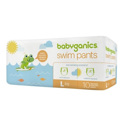 Babyganics Disposable Swim Diapers - Large