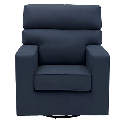 Delta Children® Chase Upholstered Glider - Navy