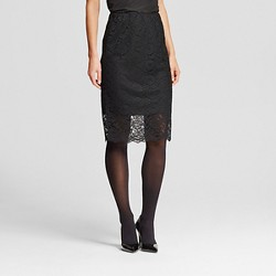 Women's Lace Pencil Skirt - Mossimo™