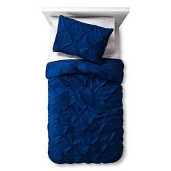 Twin Pinch Pleat Duvet Cover Set - Pillowfort™