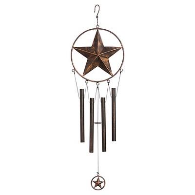 Bronze Star wind chime 27