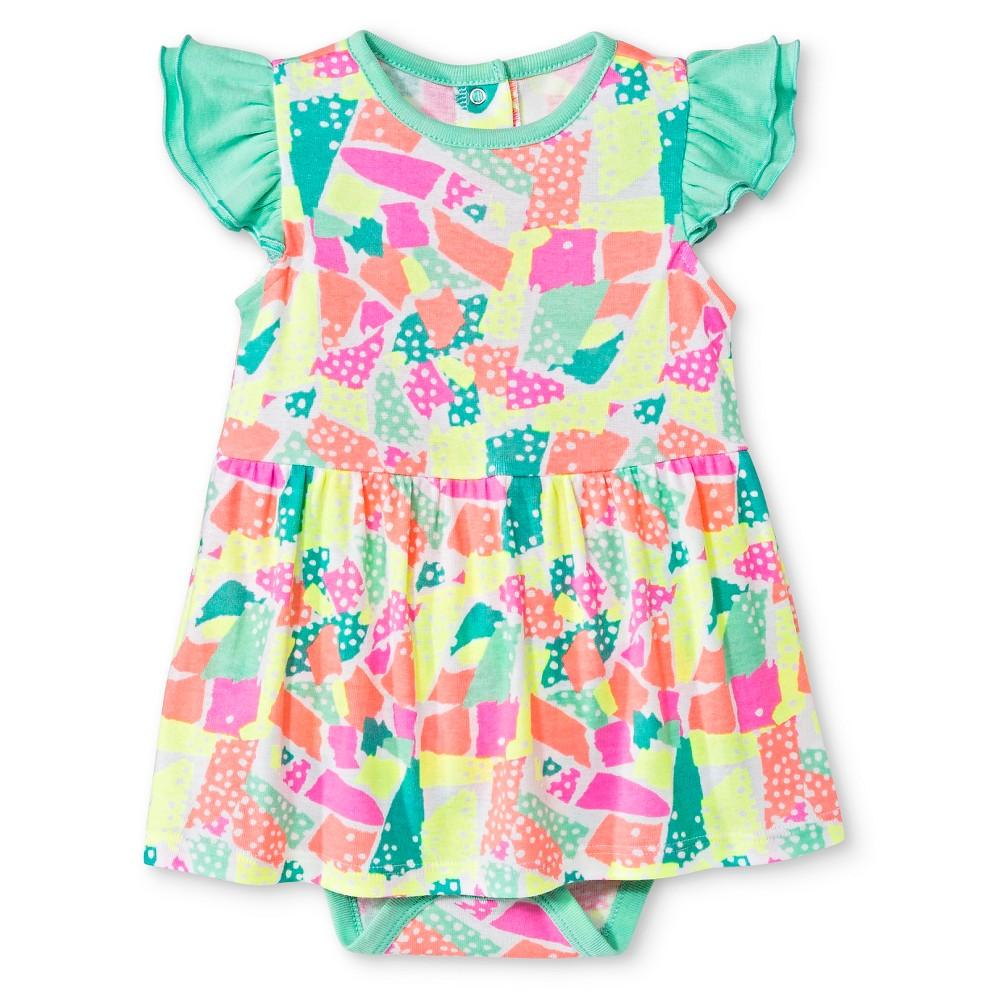 Oh Joy! Baby Skirted Bodysuit – Green 18M, Infant Girl's, Size: 18 M