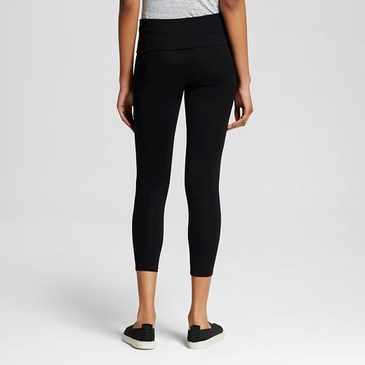 Women's Yoga Capri Foldover Waistband - Mossimo Supply Co ...