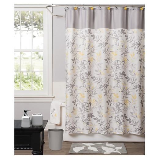 Trellis Fabric Shower Curtain Yellow Saturday Knight Ltd Target
