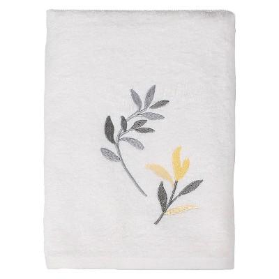 Trellis Bath Towels Yellow - Saturday Knight Ltd.®