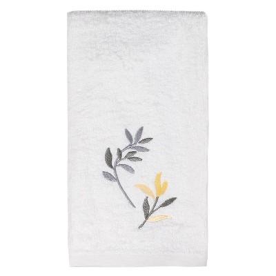Trellis Hand Towels Yellow - Saturday Knight Ltd.®