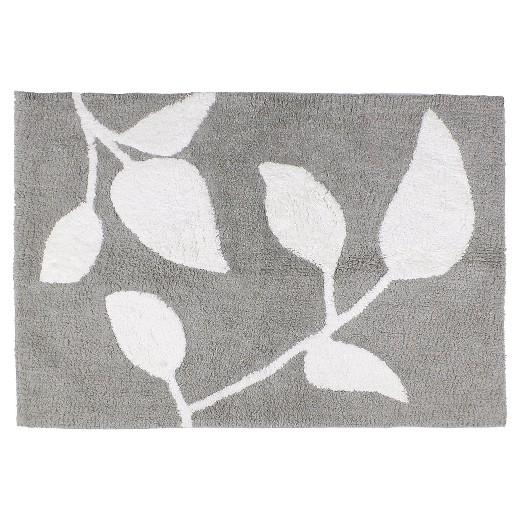 trellis floral cotton bath rug - saturday knight ltd.® : target