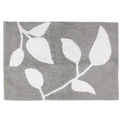 Trellis Floral Cotton Bath Rug   Saturday Knight Ltd.®