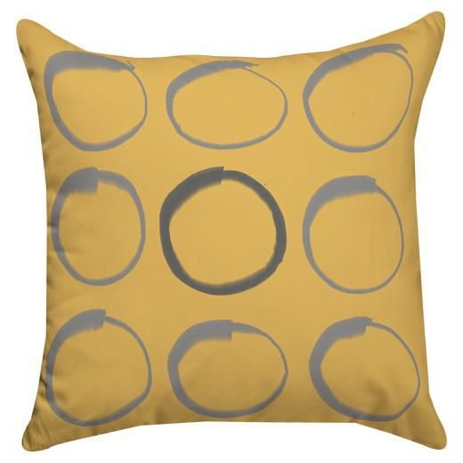 Zen Throw Pillows : Zen Circle Throw Pillow - Thumbprintz : Target