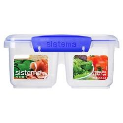 Sistema Klip It 28.7oz Medium Split Container