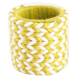 Braided Design Napkins Rings (Set Of 4)