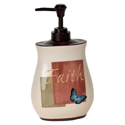 Cherish Stoneware Lotion Dispenser Ruby - Saturday Knight Ltd.®