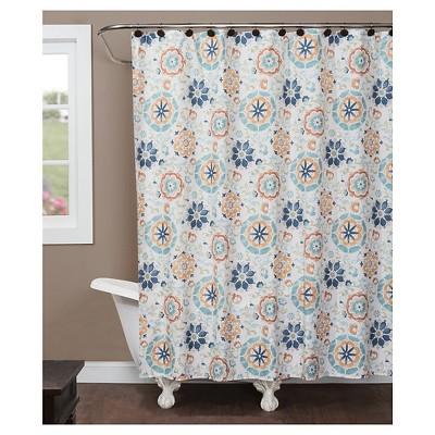 Renee Shapes Fabric Shower Curtain Saturday Knight Ltd Target
